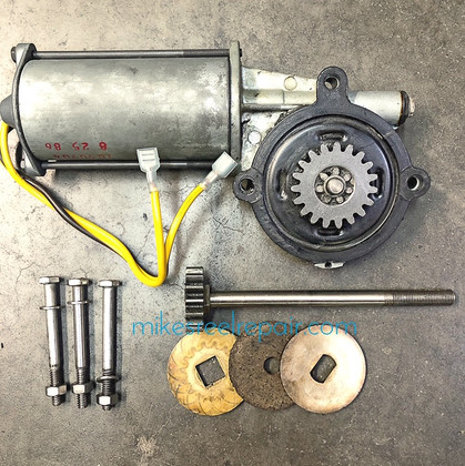 Cannon 1258000 Motor & Gear Assy - Used
