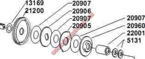 ABU 20960M Machined Flat Top Drag Plate