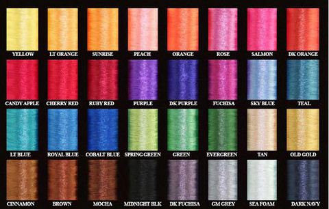 YELLOW THREAD SIZE A