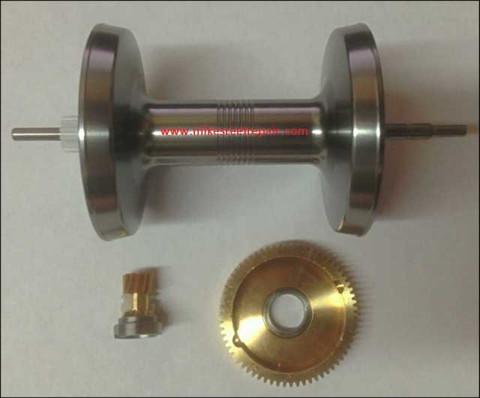 Abu 7000 High Speed Gear & Spool Kit - Silver