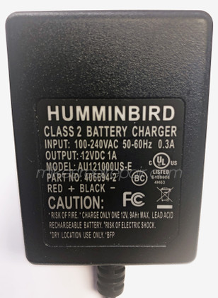 Humminbird Battery Charger - Case