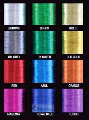 Magenta Metallic Thread size D, 100yds