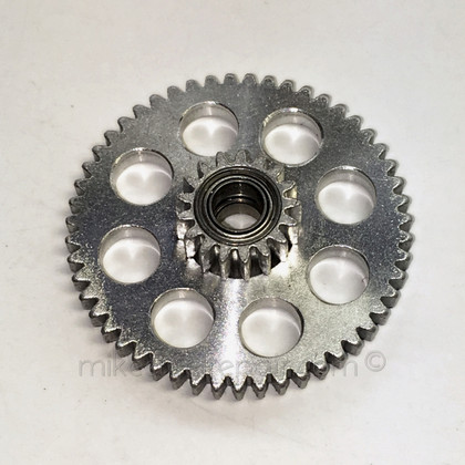 METAL Ported Abu Dual Bearing Idler Gear Kit - Top