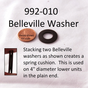 992-010 WASHER - BELLEVILLE