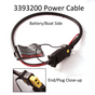 Cannon 3393200 CABLE-POWER, BATTERY