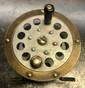 Pflueger Progress No 1774 Brass Frame Fly Reel - Front