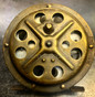 Pflueger Progress No 1774 Brass Frame Fly Reel - Back