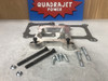 Quadrajet mount adapter, to square bore manifold