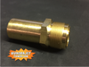 """Fuel filter Housing, later style 1"""" threads, New"""