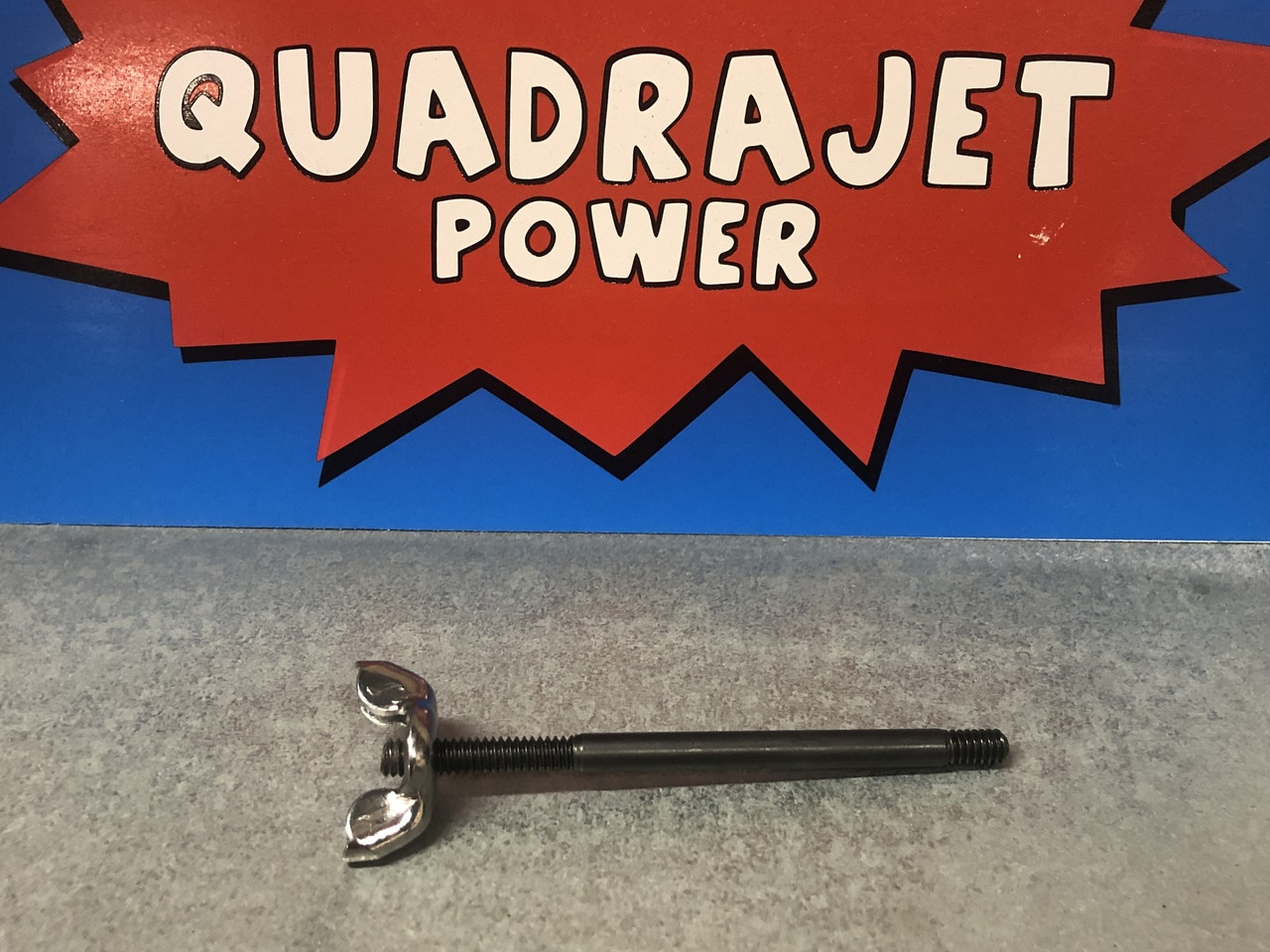 Quadrajet Air Cleaner stud with wing nut, New