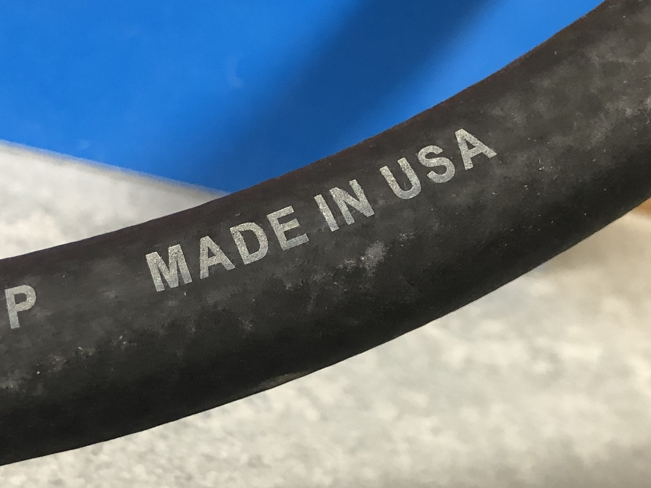 """3/8"""" Fuel line hose, by the foot"""