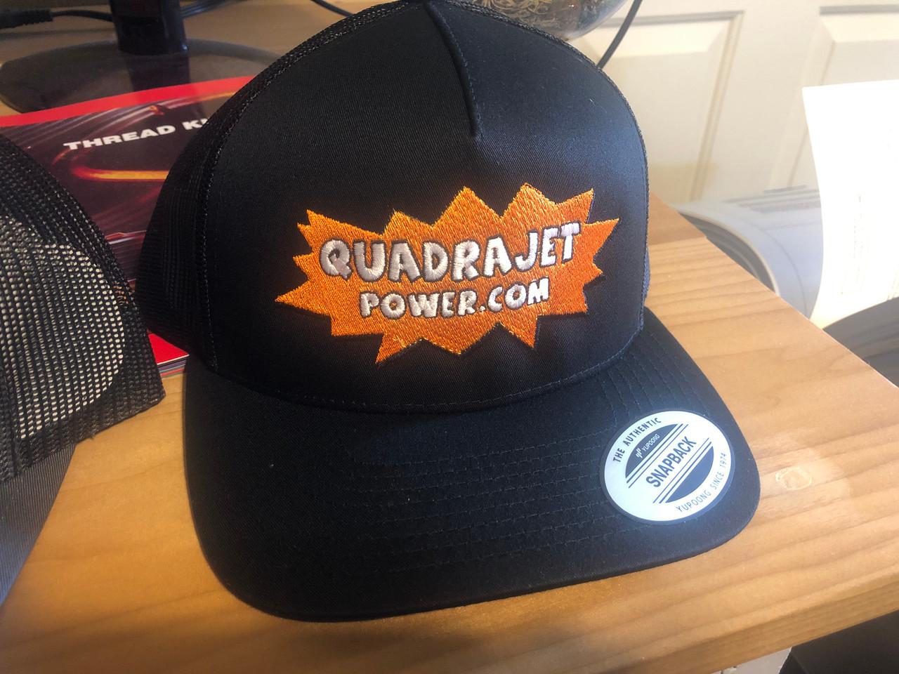 Quadrajet Power cap