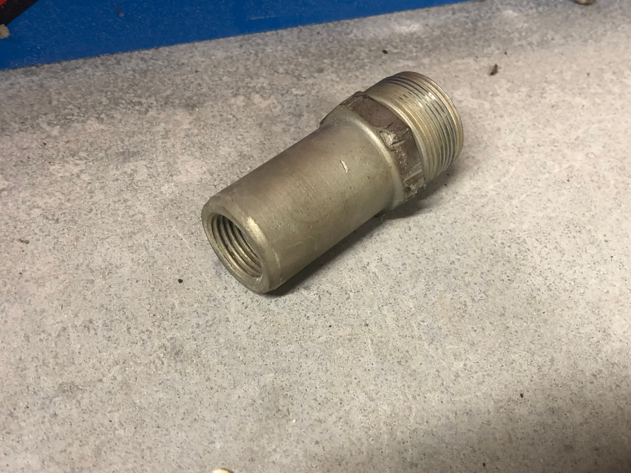 """Fuel filter Housing, long 1"""" threads, Used 72 and later"""