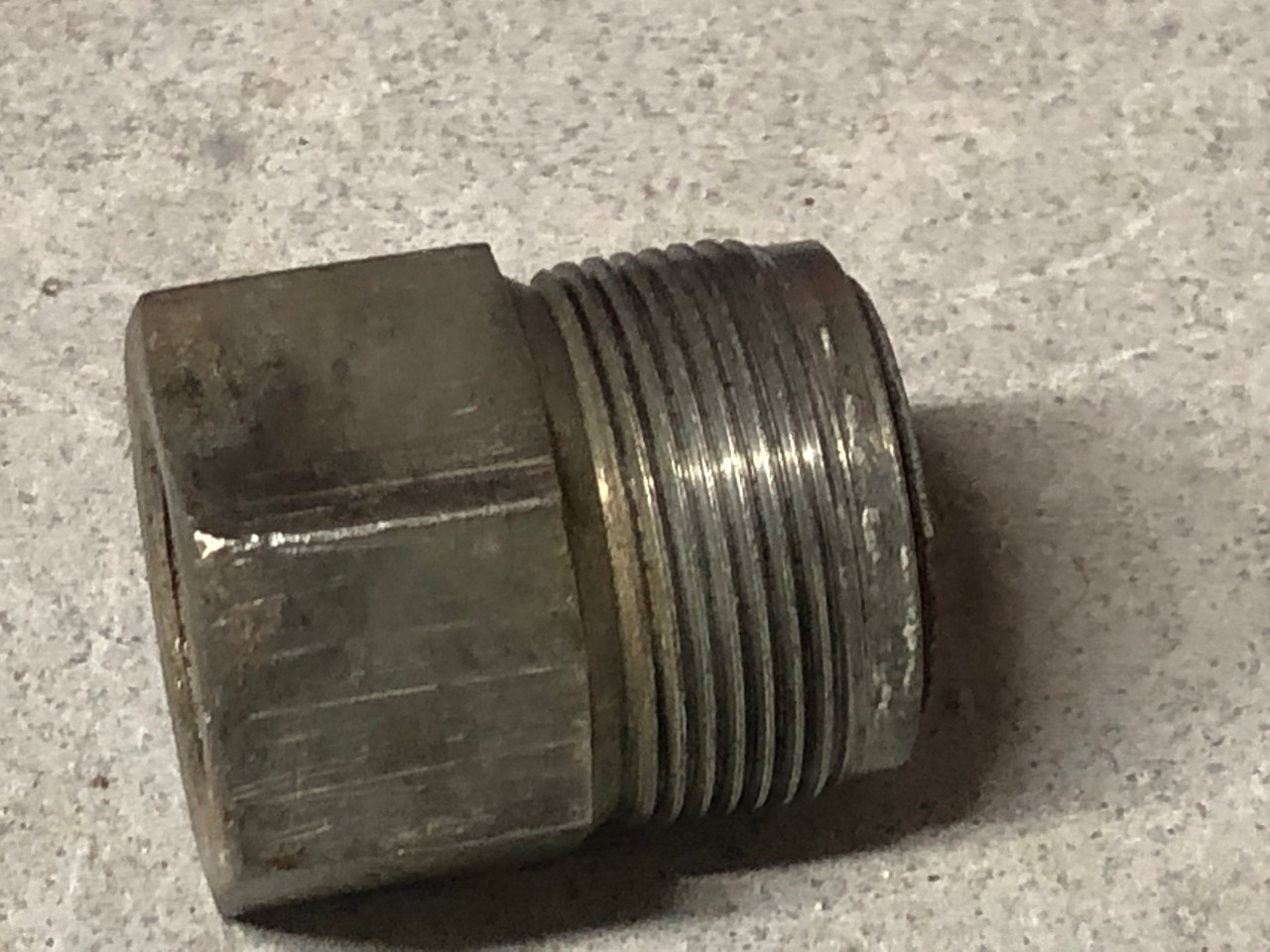 """Fuel filter Housing, short 1"""" threads, Used 72 and later"""