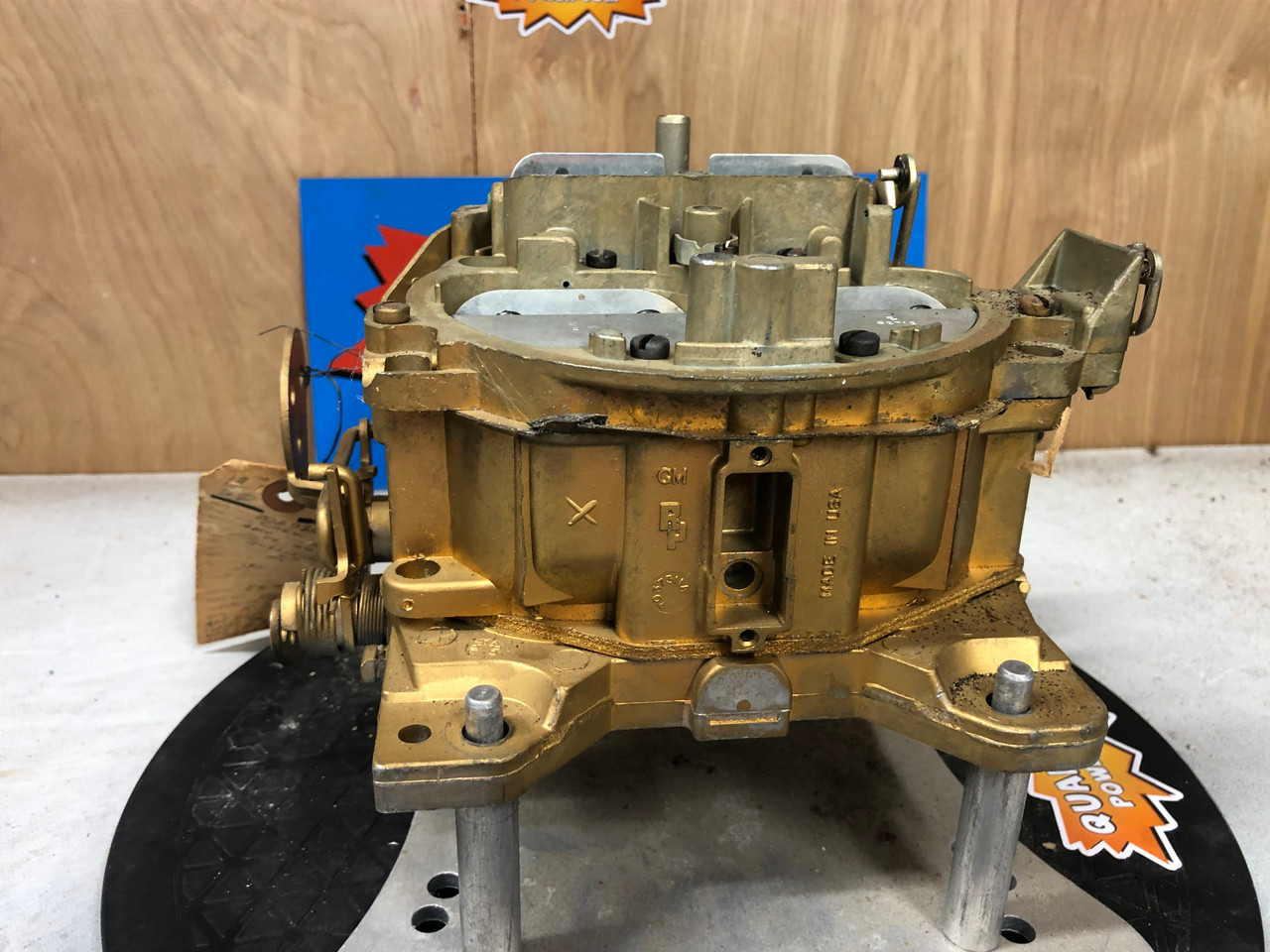 Chevrolet 1969 350   Quadrajet  7029207 ENGINEERING MASTER