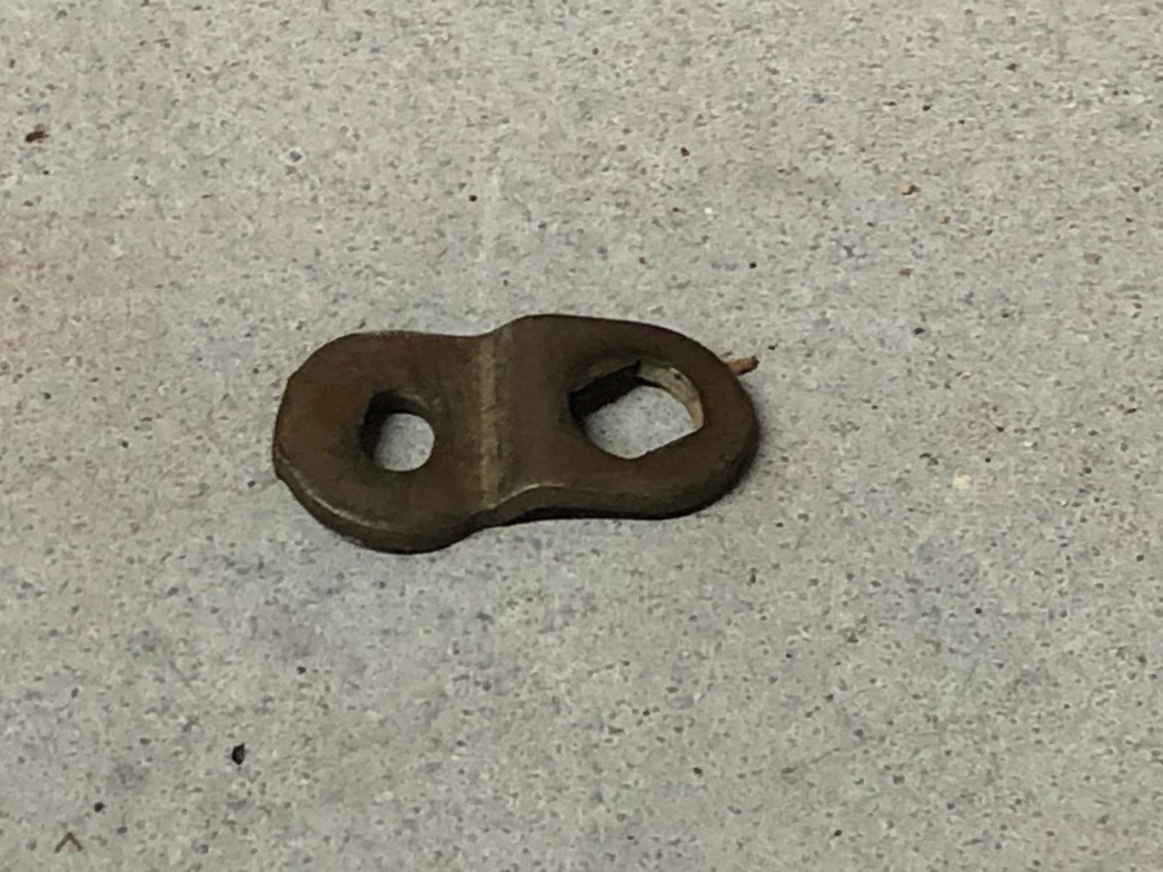 choke rod retainer, used, later style