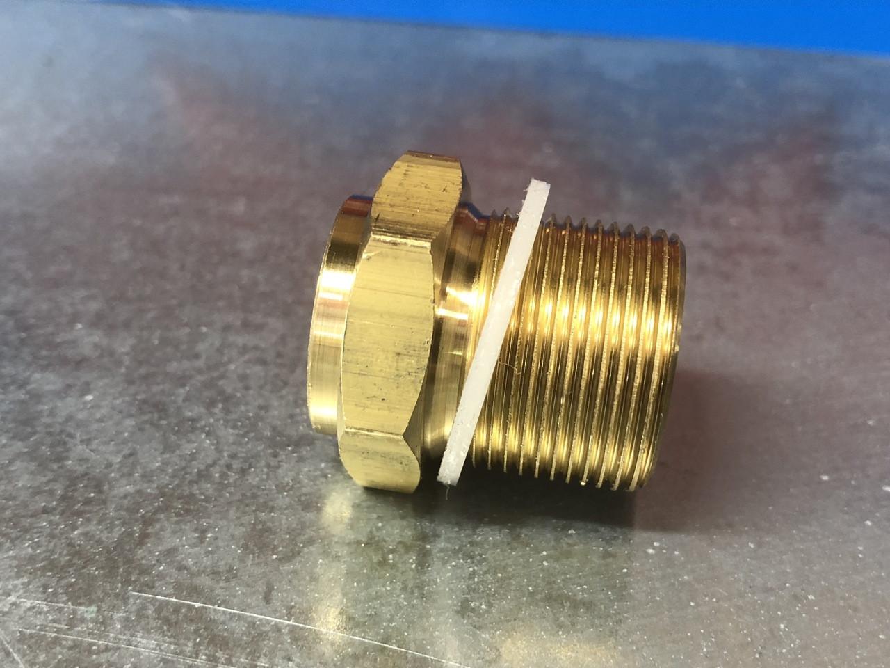Fuel filter Housing, long threads 7/8x20, New