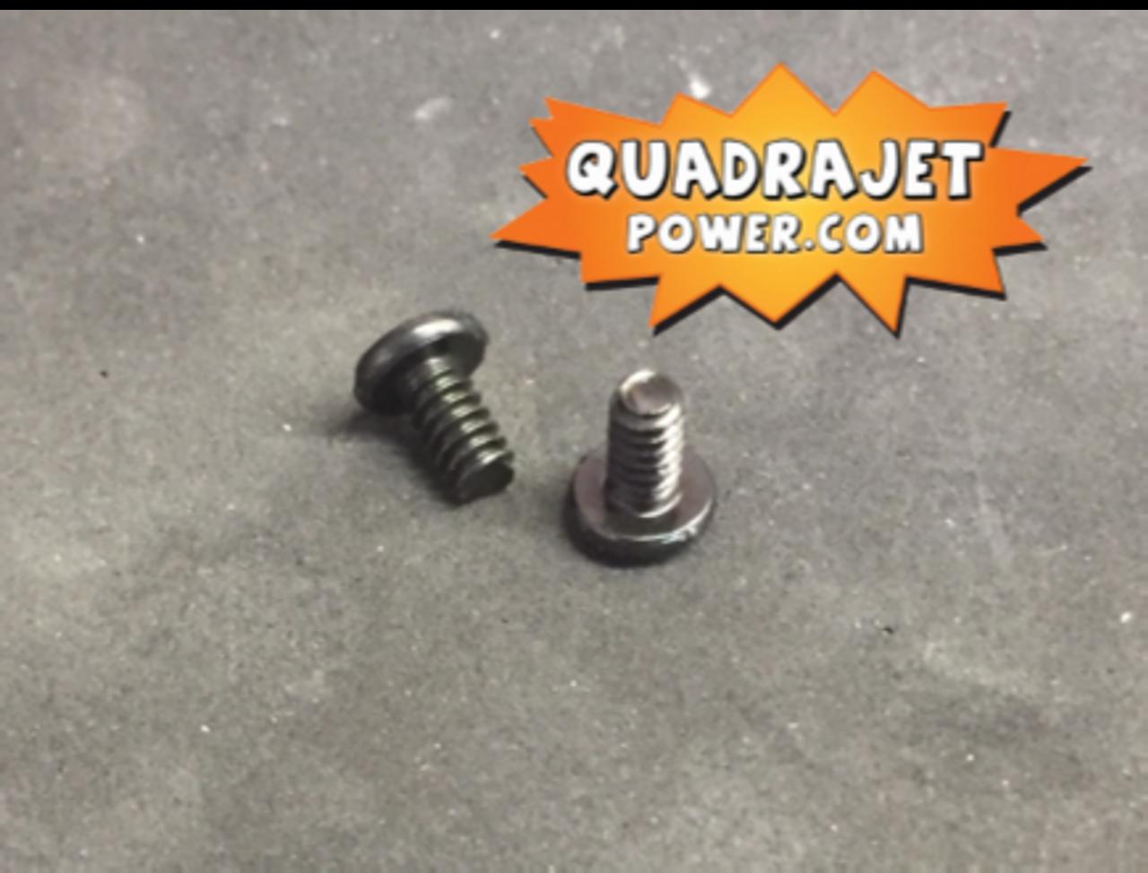 Choke plate screws, Package of 10.
