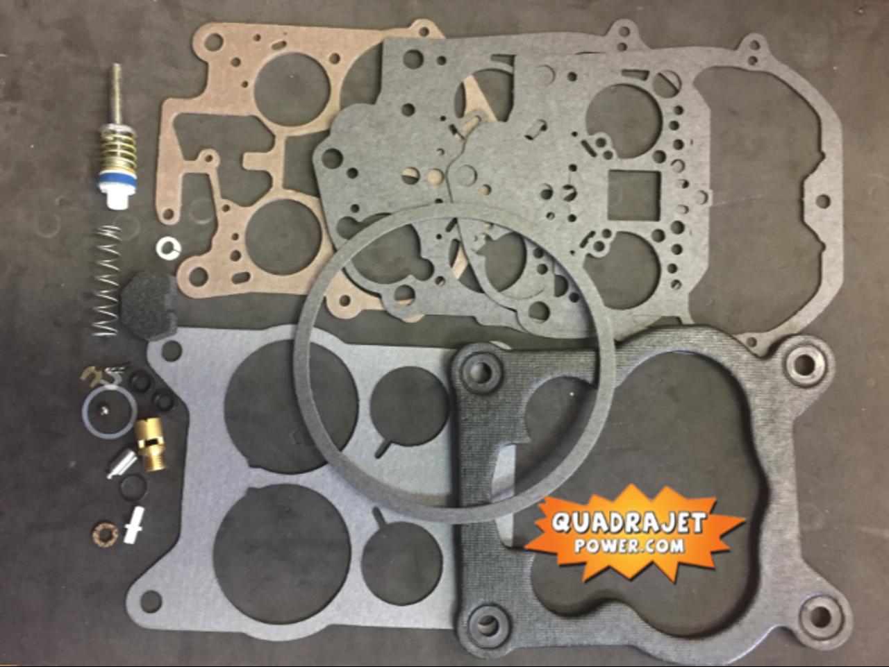 Chevrolet 76-80 Quadrajet Rebuild Kit Chevy GMC truck 80-89 Best Kit Available