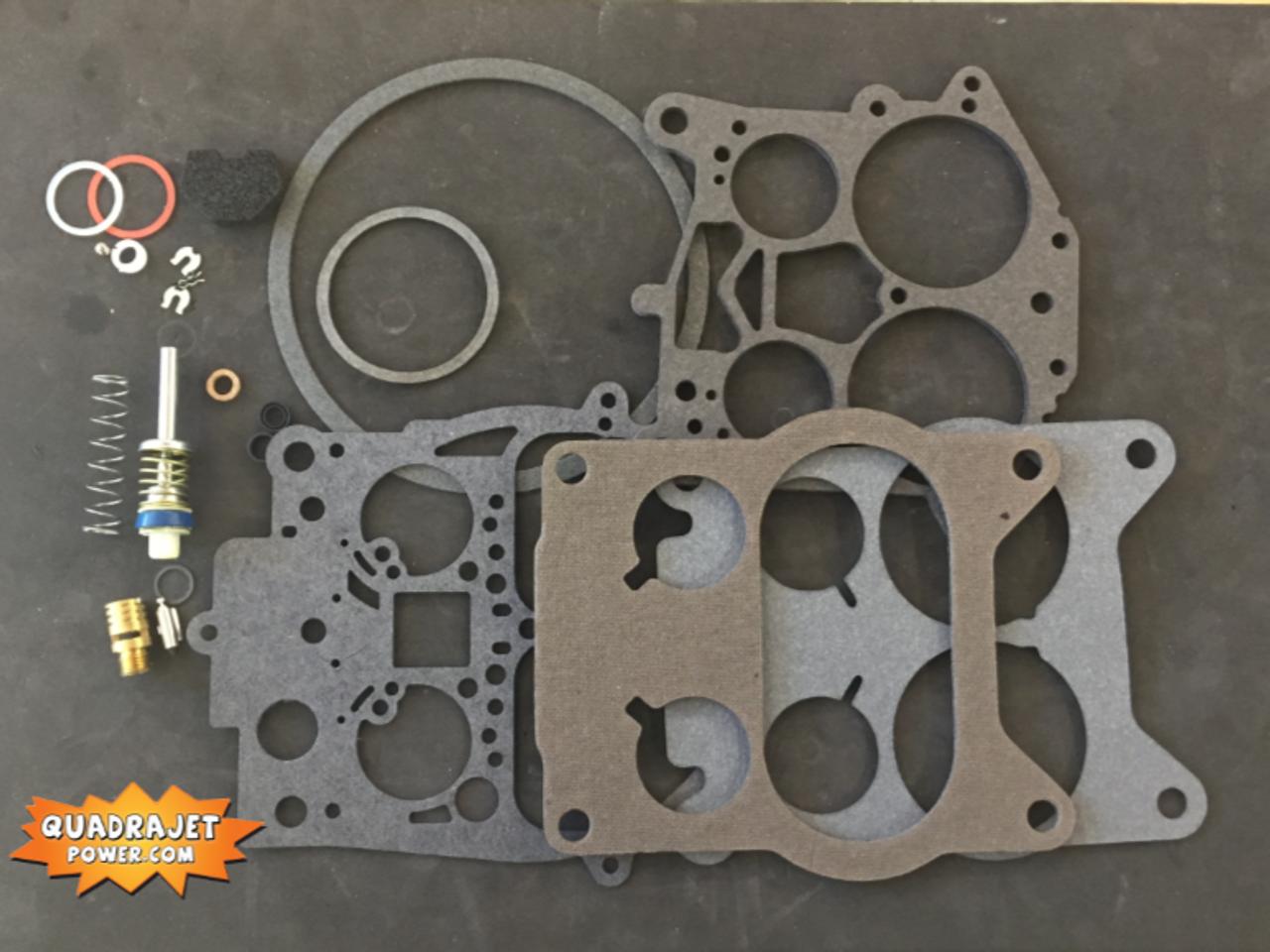 Quadrajet Rebuild Kit  Cadillac 70-74, Chevrolet GMC truck 73-76,  Oldsmobile 66-76