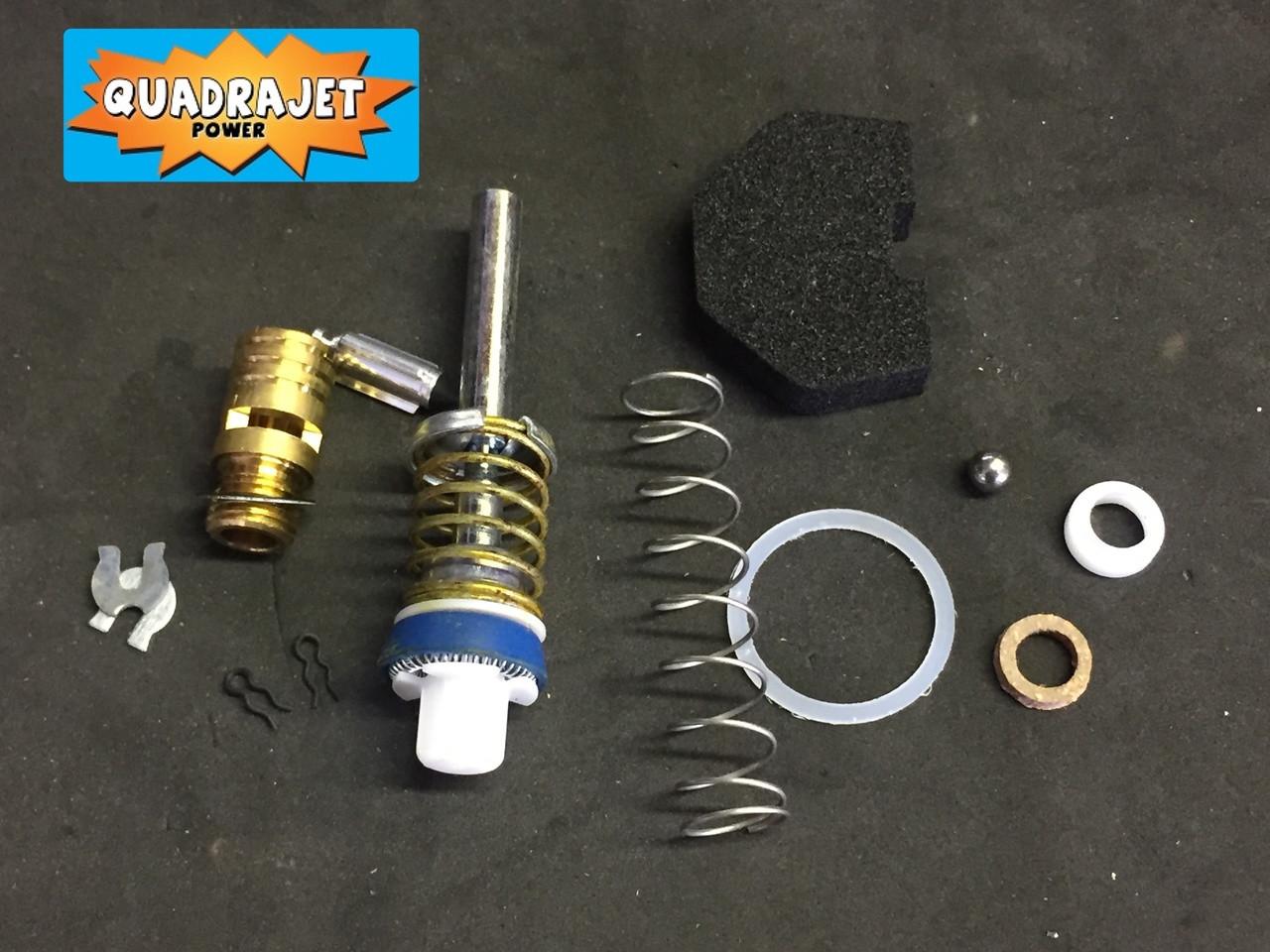 Quadrajet Rebuild Kit.  Chevrolet 1973-74, Chevy GMC 1972-79
