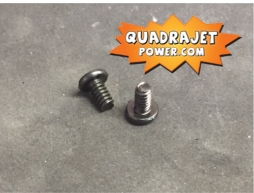 Choke plate screws