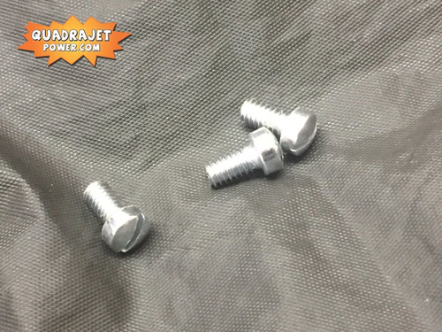 Choke cover screws, (3) 8-32 x 5/16""