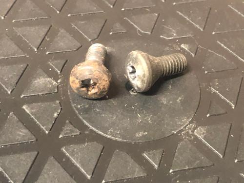 Shouldered Screws, Used Pair