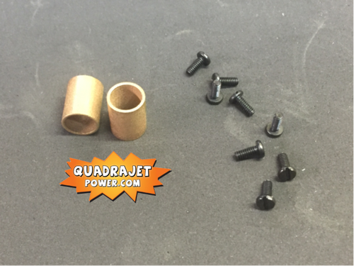 Primary shaft Bronze bushings and screws and driver tool