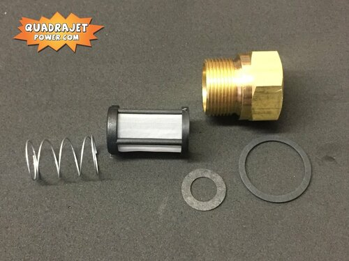Marine Fuel filter inlet kit, Screen Filter, early inlet gasket, spring, Inlet