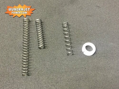 Power piston return spring set with retainer, New