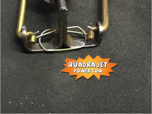 Quadrajet primary metering rod spring NEW Early Holds rods to power piston