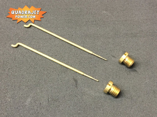 Quadrajet 73 Jets and 43B rods combo. New
