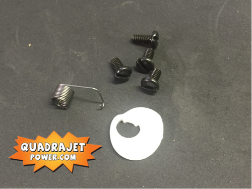 Secondary air valve cam kit.  Cam, Screws, and tension spring, New items