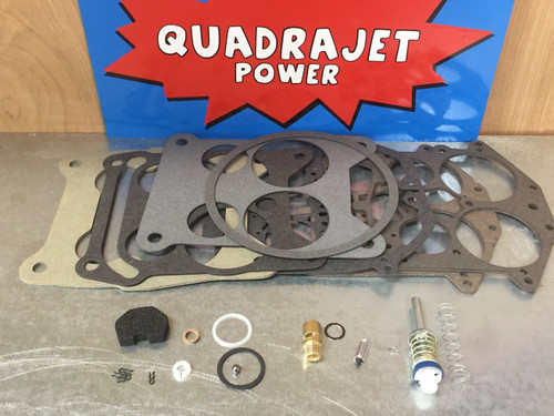 Quadrajet Rebuild Kit. Buick 66-74, Chevrolet 67-68, Pontiac 66-74