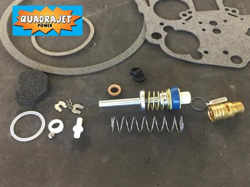 Quadrajet Rebuild Kit. Buick 77-87, Chevrolet 87, Chevy GMC 77-78, Oldsmobile 75-87, Pontiac 77-87