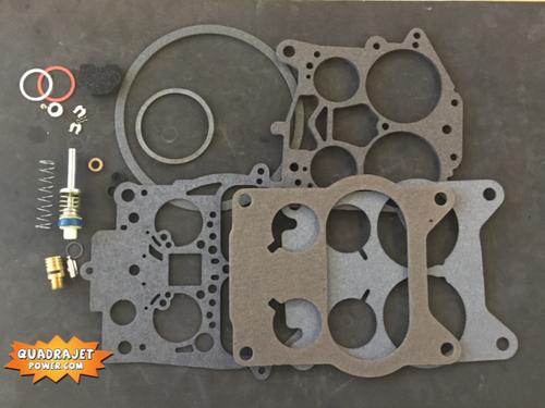 Quadrajet Rebuild Kit. Chevrolet 76-80, Chevy/GMC truck 80-89