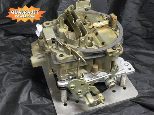 Quadrajet custom built and tuned for your engine