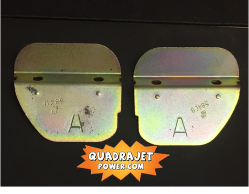Secondary Air Valves, pair late style