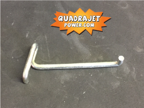 Secondary throttle rod, early clip style. Used.