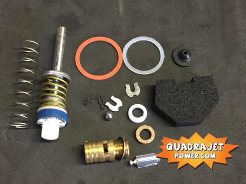 Quadrajet Rebuild Kit. Buick 75-77, Oldsmobile 75-77, Pontiac 75-79