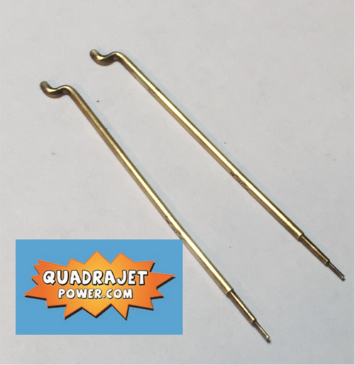 44 full taper Primary Rods, New with .026 power tip. For 75 and newer