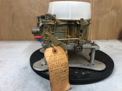 Chevrolet 1967 327 350 4 speed  Quadrajet  7027203 ENGINEERING MASTER