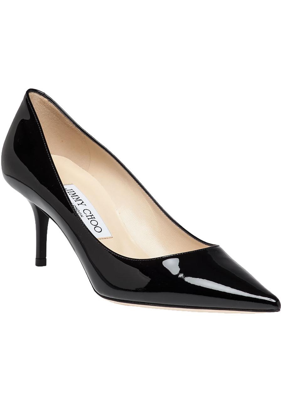c2fd166e7e Aurora Black Patent Leather Kitten Heel - Jildor Shoes