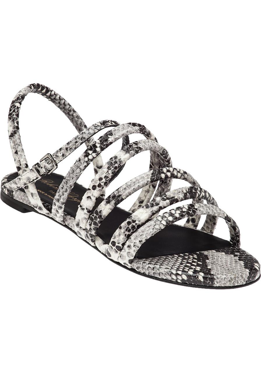 f39552884409 Gaga Snake Print Sandal - Jildor Shoes