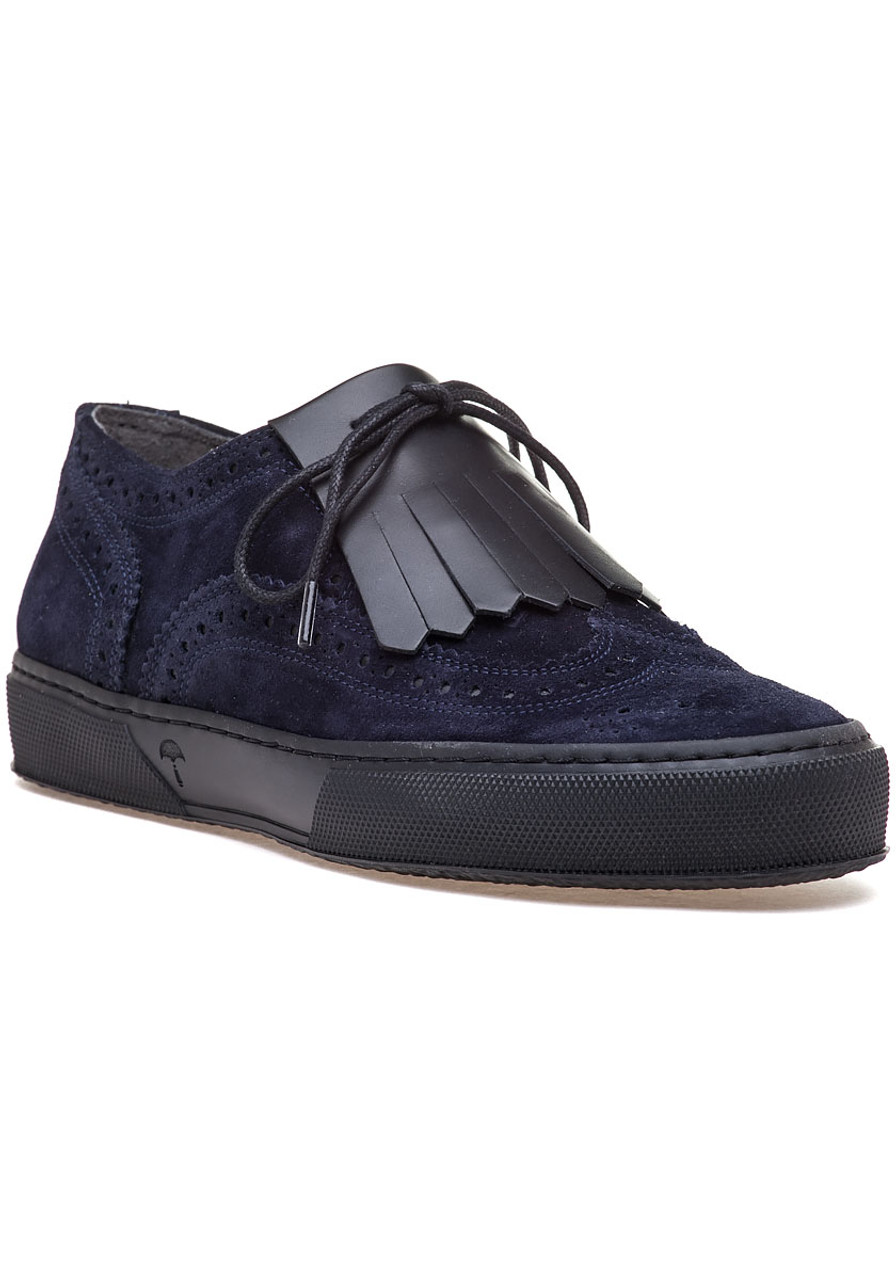 e082d4b3d0ff Tolka Navy Suede Oxford Sneaker - Jildor Shoes