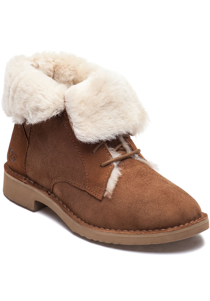 b97a6f7c2ce Quincy Chestnut Suede Lace Up Boot