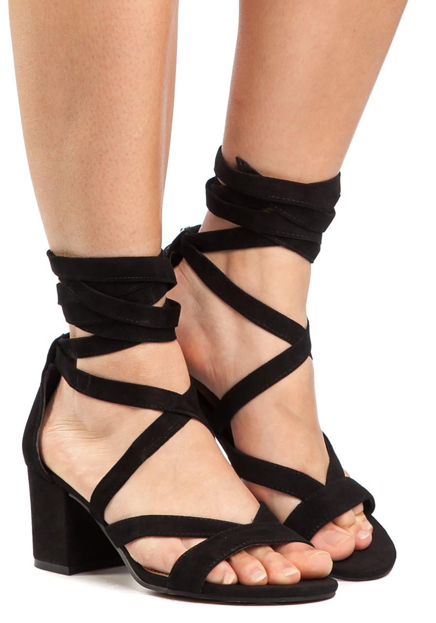 0fc41cb0d4fe Sheri Sandal Black Suede - Jildor Shoes