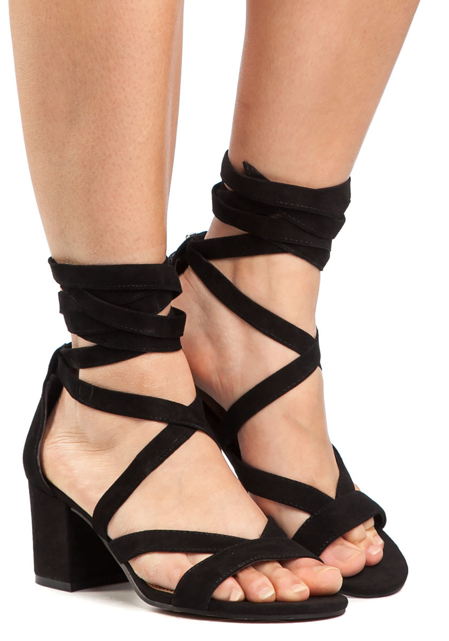 ecdef5c3055c Sheri Sandal Black Suede - Jildor Shoes