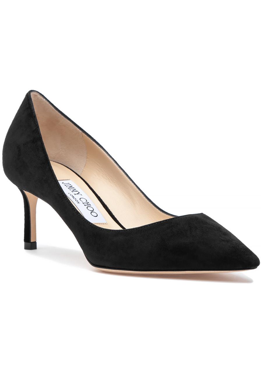 f534ad5df3d Romy 60 Pump Black Suede - Jildor Shoes